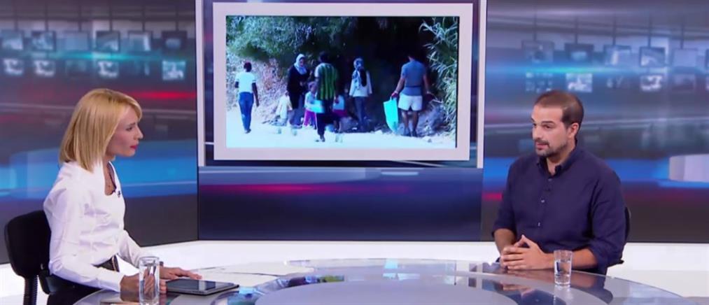 Σακελλαρίδης στον ΑΝΤ1: τα νησιά έχουν μετατραπεί σε ανοιχτές φυλακές (βίντεο)