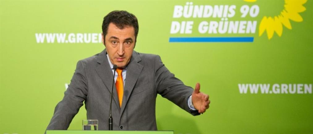 Στην ψηφοφορία στη Βουλή και οι Γερμανοί Πράσινοι