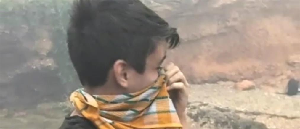 """Το """"Χαμόγελο του Παιδιού"""" βράβευσε τον 14χρονο Βασίλη για τη γενναιότητά του (βίντεο)"""
