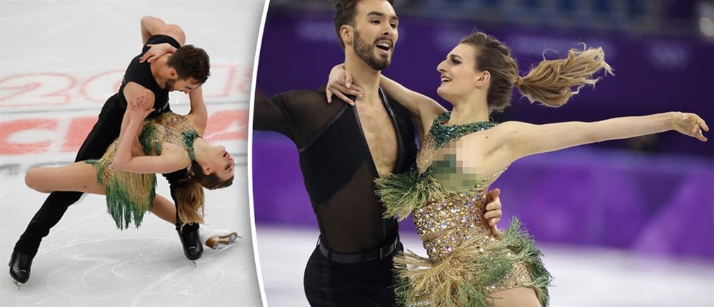 Χειμερινοί Ολυμπιακοί Αγώνες: Το σέξι «ατύχημα» της Ελληνογαλλίδας και η αντίδραση της (φωτό)