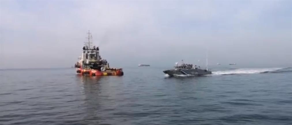 Ακυβέρνητο σκάφος ρυμουλκήθηκε στο λιμάνι της Επανομής