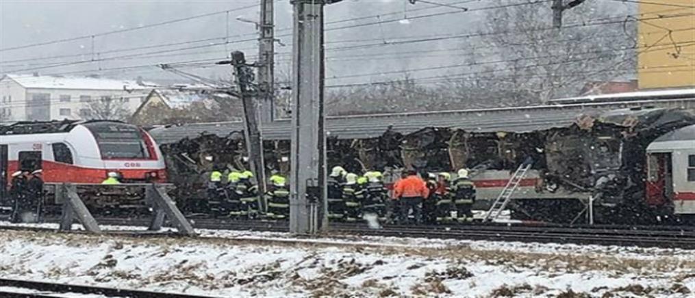 Φονική σύγκρουση τρένων στην Αυστρία