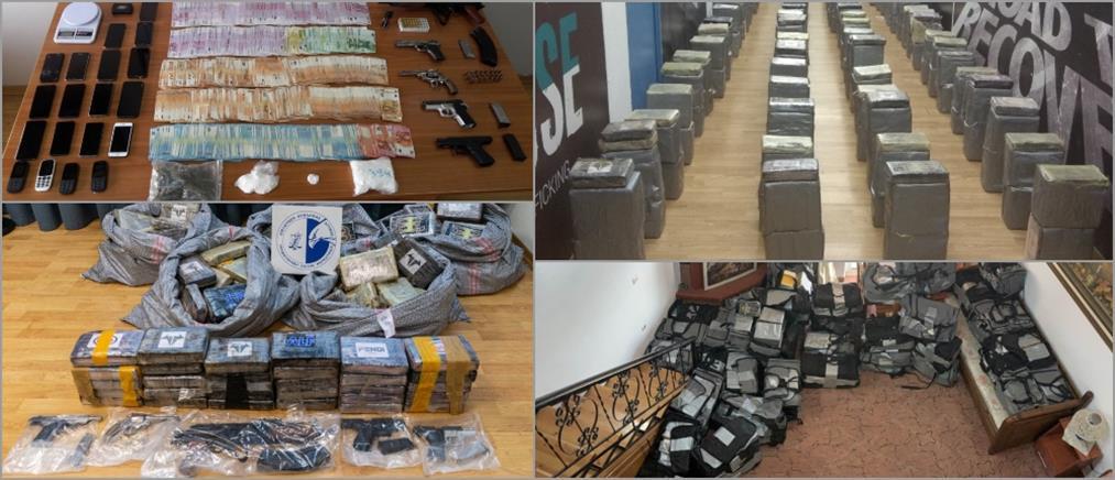 """""""Χρυσάφι"""" για διεθνές καρτέλ οι 1,2 τόνοι κοκαΐνης που έφερε στην Ελλάδα (εικόνες)"""