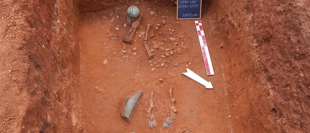 Σημαντικά αρχαιολογικά ευρήματα στην Αχλάδα Φλώρινας (εικόνες)
