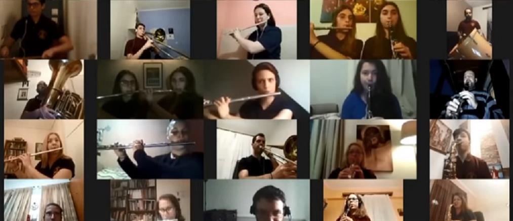 """Adagio"" από 170 μουσικούς της ""Παλαιάς"" που ενώθηκαν διαδικτυακά! (video)"
