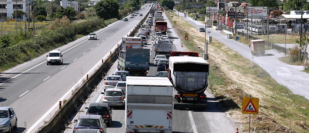 Έξοδος - Θεσσαλονίκη: Αυξημένη η κίνηση προς τη Χαλκιδική