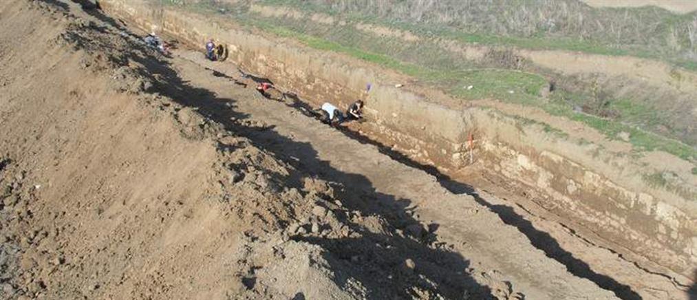 Βεργίνα: ανακαλύφτηκε οχυρωματικό τείχος του 300 π.Χ.
