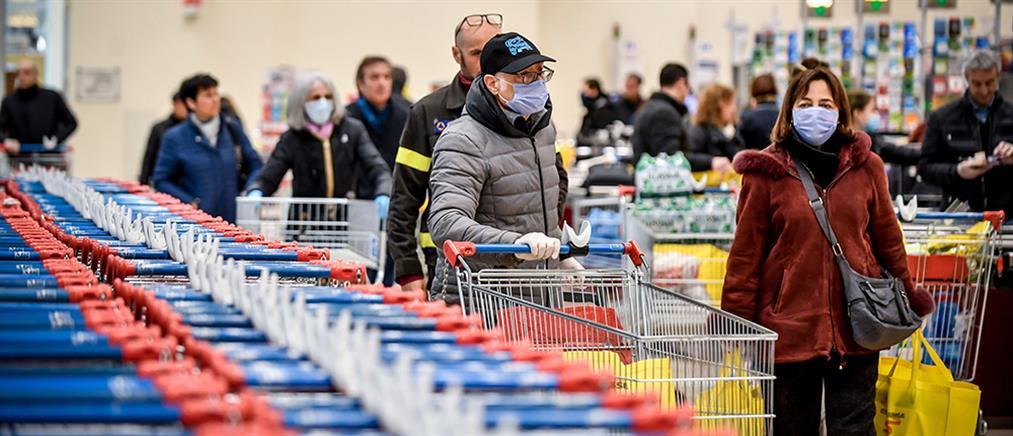 Κορονοϊός: και εφημερίδες στα ράφια των σούπερ μάρκετ - το νέο ωράριο