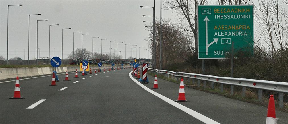 Πολύμηνες κυκλοφοριακές ρυθμίσεις στην Εγνατία Οδό