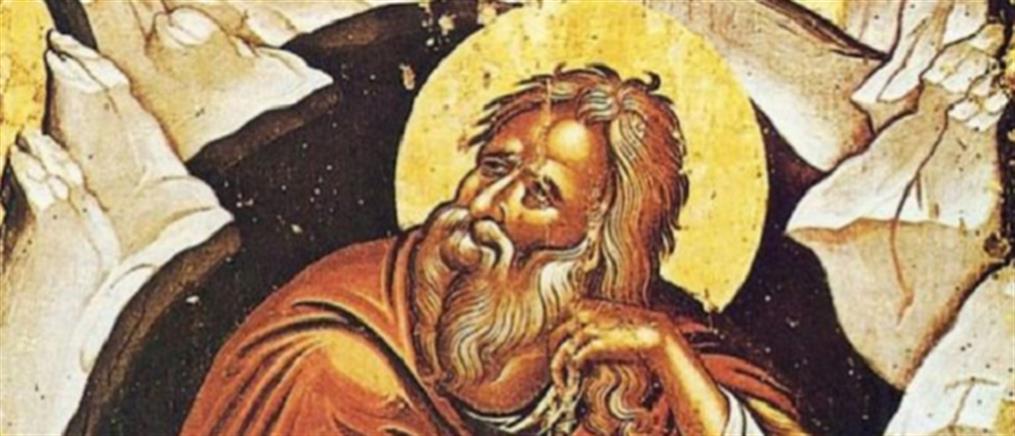 Σήμερα τιμάται ο Προφήτης Ηλίας ο Θεσβίτης