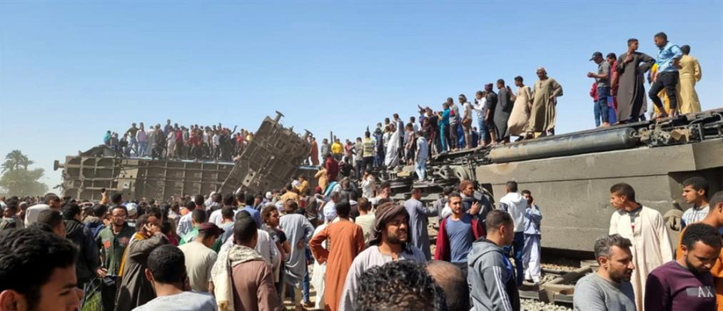 Αίγυπτος: δεκάδες νεκροί σε σύγκρουση τρένων (εικόνες)
