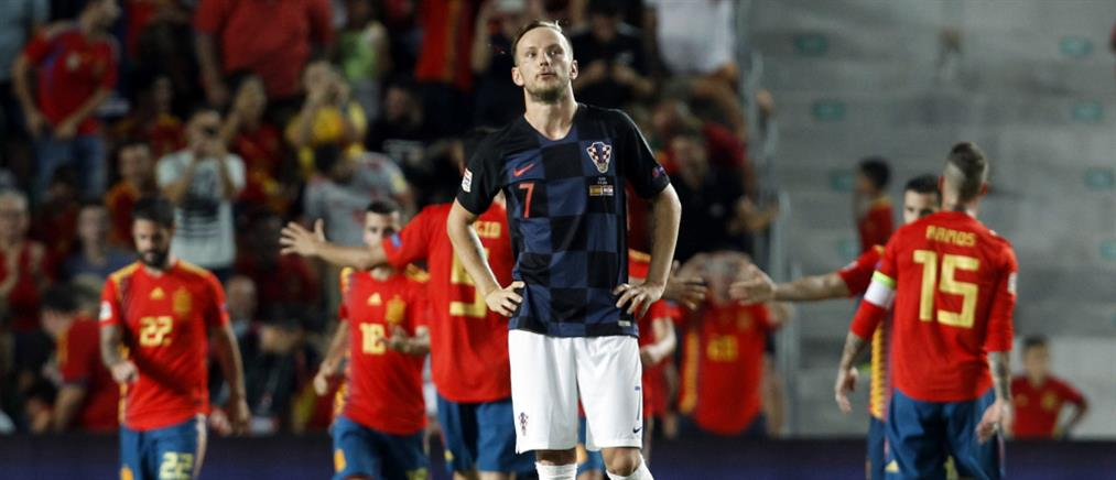 Nations League: Διασυρμός της Κροατίας από την Ισπανία