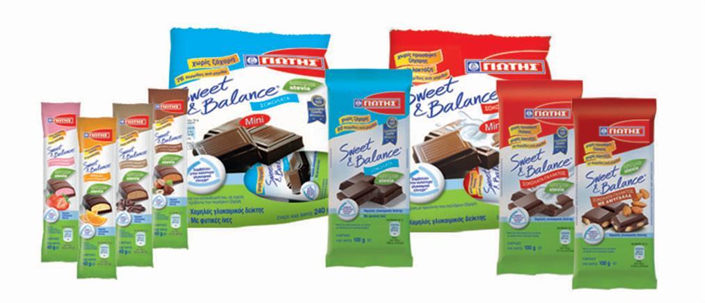 Γιώτης: Νέα κορυφαία διεθνής διάκριση για τις σοκολάτες Sweet & Balance