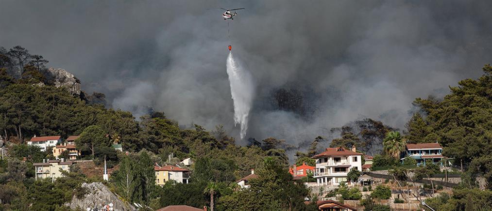 Φωτιές στην Τουρκία: Νεκροί και σκηνές απόγνωσης (εικόνες)
