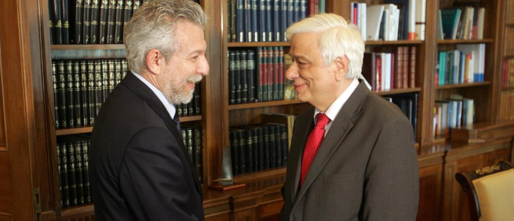 Ο Κοντονής ενημέρωσε τον Παυλόπουλο για το νέο αθλητικό νομοσχέδιο