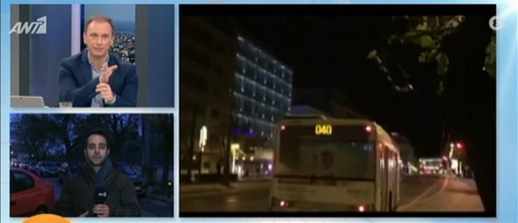 Οδηγός λεωφορείου ξεχάστηκε και…άλλαξε το δρομολόγιο (βίντεο)