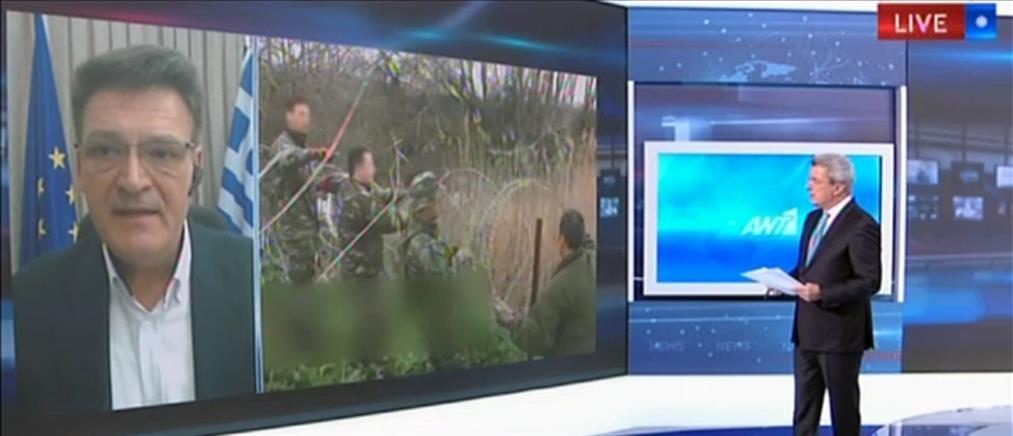 Πέτροβιτς στον ΑΝΤ1: αυτή είναι η αλήθεια για τον Έβρο (βίντεο)