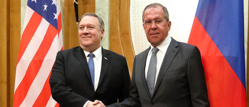 Σύνοδο των πέντε μεγάλων δυνάμεων συζητούν Πομπέο – Λαβρόφ