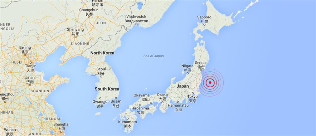 Σεισμός 6,8 Ρίχτερ συγκλόνισε την Ιαπωνία