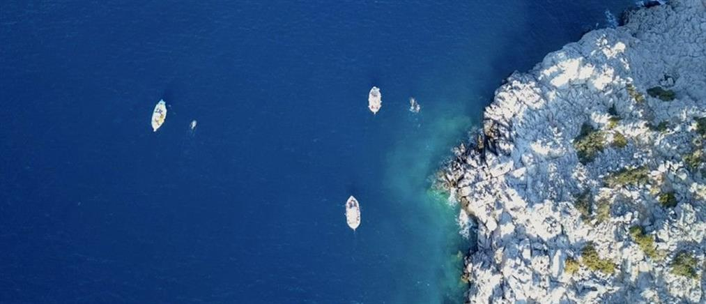 """Επιτυχημένος ο 2ος Κολυμβητικός Μαραθώνιος """"Ο γύρος της Θύμαινας"""" (εικόνες)"""