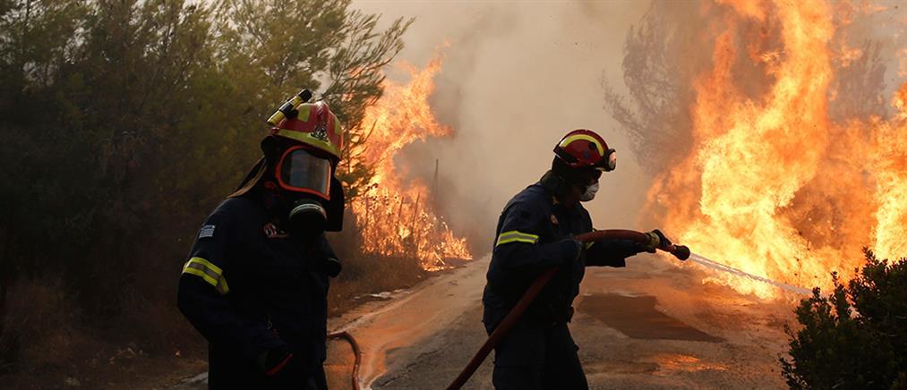 Η ενημέρωση της Πυροσβεστικής για τις πυρκαγιές