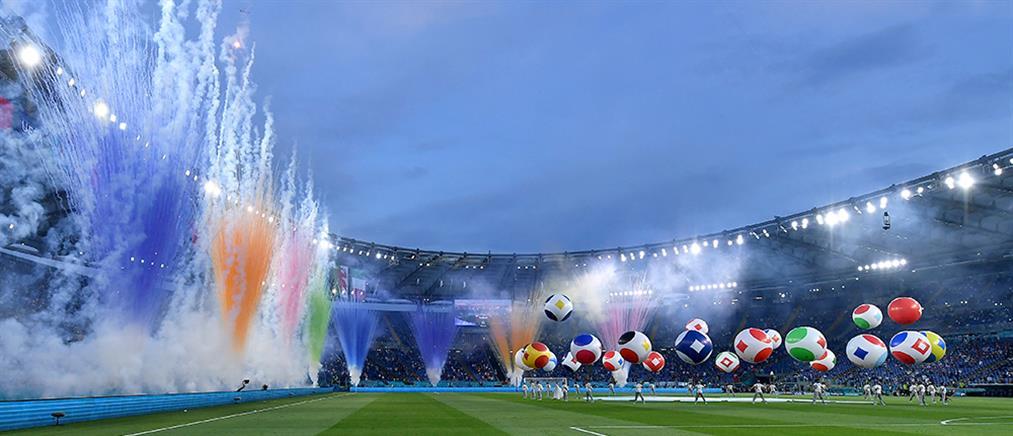 Euro 2020 στον ΑΝΤ1: Η φαντασμαγορική τελετή έναρξης (βίντεο)