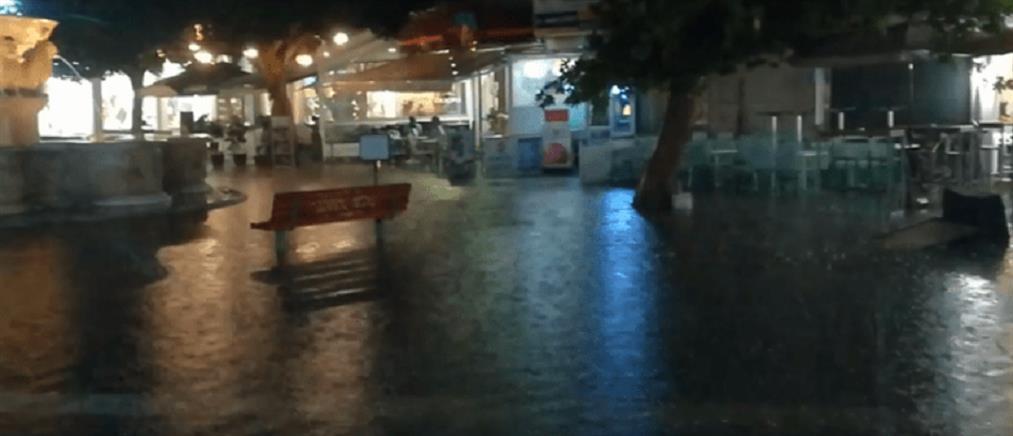 """""""Ιανός"""": εφιαλτική η νύχτα στην Κρήτη"""