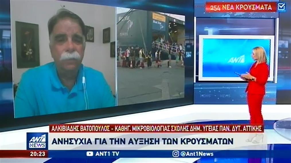 Ο Αλκιβιάδης Βατόπουλος στον ΑΝΤ1 για τα νέα μέτρα