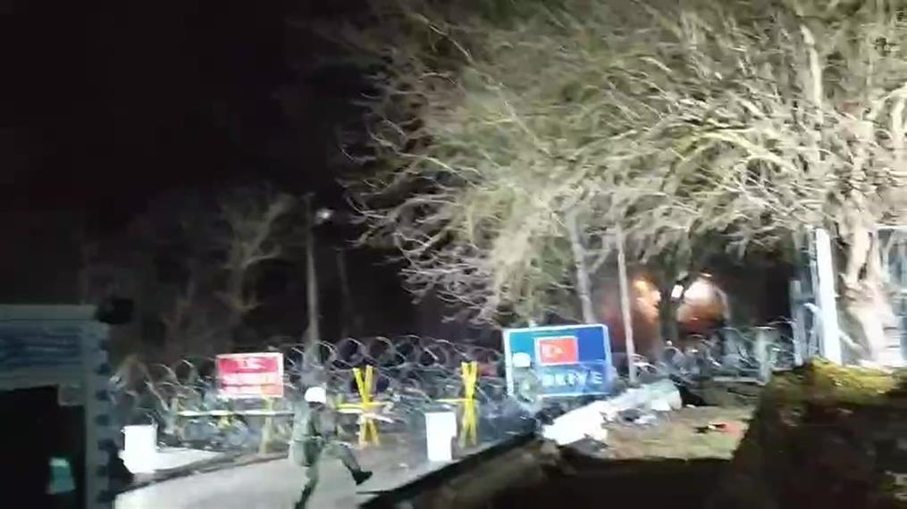 Επίθεση δέχθηκαν οι συνοριοφύλακες στις Καστανιές Έβρου