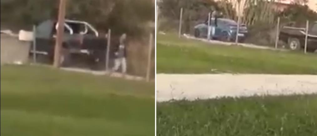 Άγρια συμπλοκή μετά από τροχαίο! (βίντεο)