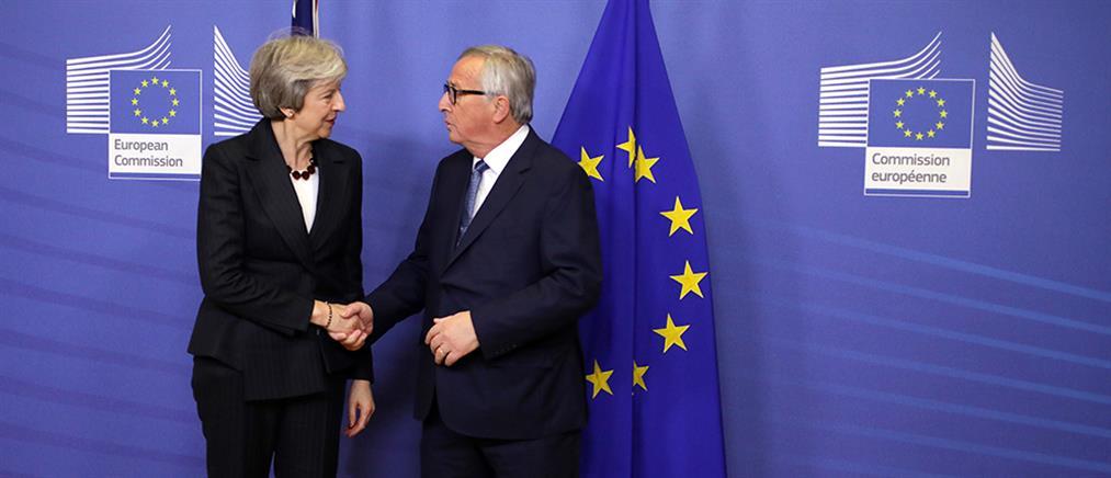Δεν τα βρήκαν Μέι και Γιούνκερ για το Brexit