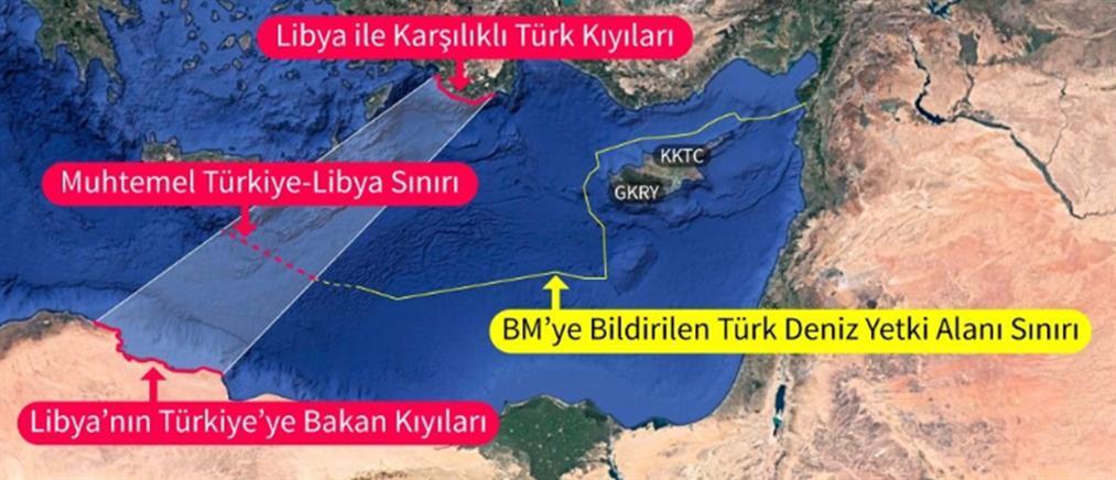 """""""Επισημοποιεί"""" ο ΟΗΕ το μνημόνιο Τουρκίας – Λιβύης"""