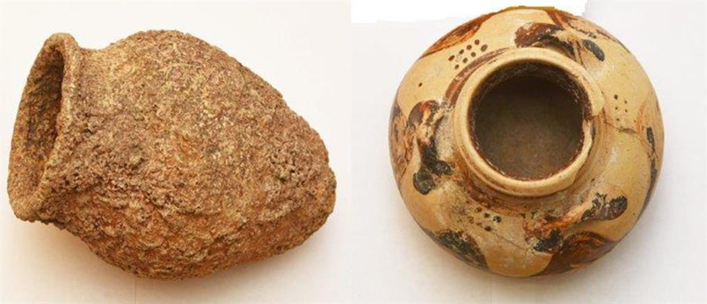 """Αρχαιοκάπηλοι έκρυβαν """"θησαυρό"""" στο σπίτι τους (εικόνες)"""