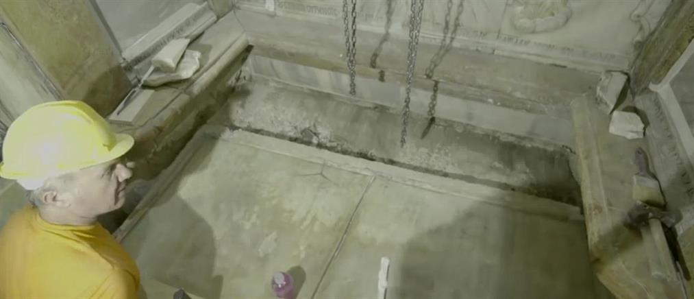 Περίεργα φαινόμενα κατά τις εργασίες αναστήλωσης στον Πανάγιο Τάφο