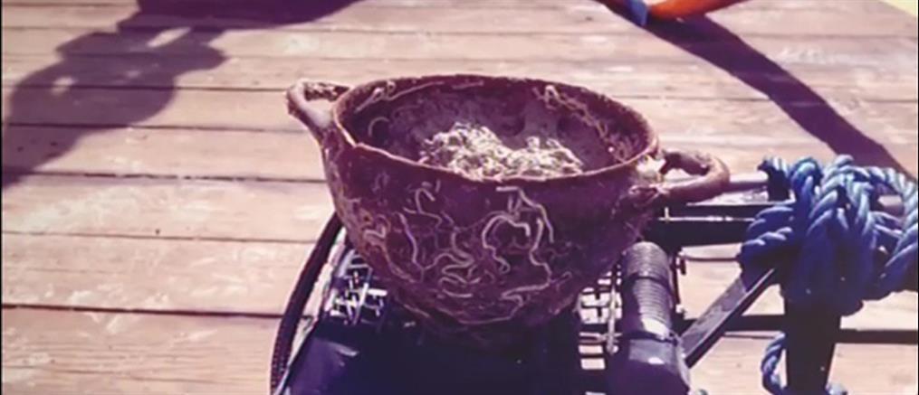 Ιταλία: Αρχαία ελληνικά κεραμικά σε ναυάγιο του 7ου π.Χ αιώνα (βίντεο)