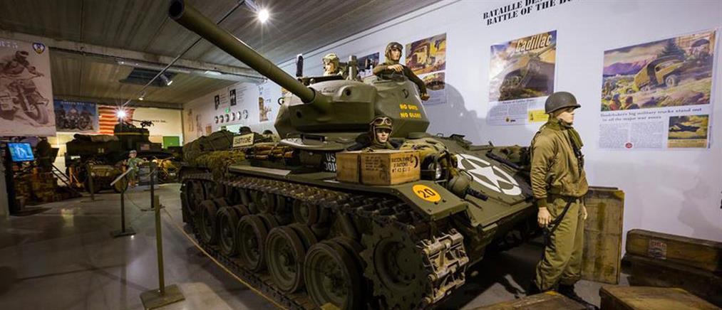 Πωλούνται άρματα μάχης από μουσείο που κλείνει λόγω έλλειψης... επισκεπτών!