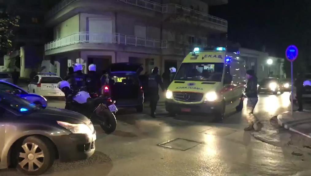 Τροχαίο ατύχημα μετά από καταδίωξη οχήματος διακινητή στην Αλεξανδρούπολη