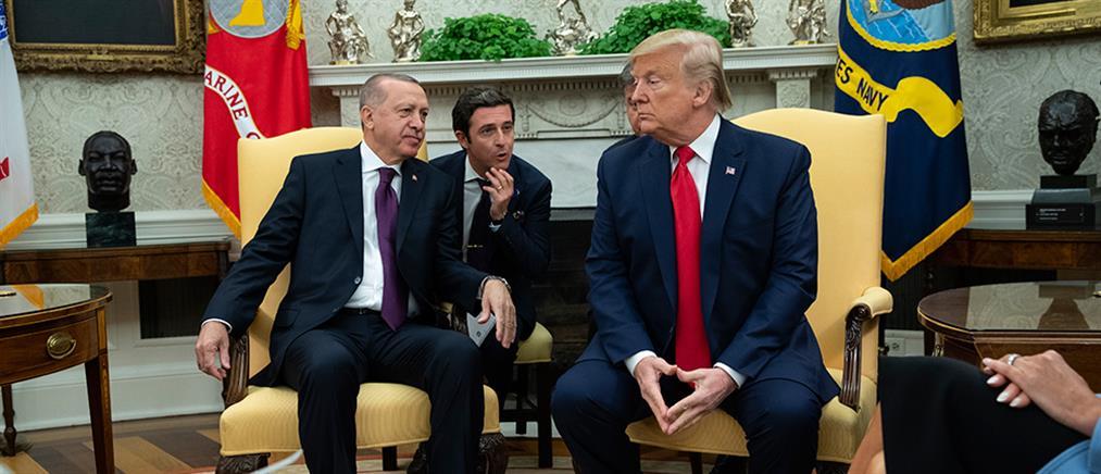 Τραμπ: είμαστε φίλοι από παλιά με τον Ερντογάν