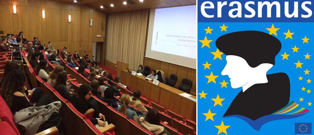 ΕΚΠΑ: Υποδέχτηκε 90 φοιτητές από 16 χώρες του προγράμματος ERASMUS+