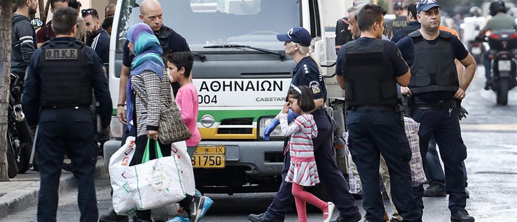 Αστυνομική επιχείρηση εκκένωσης κατάληψης