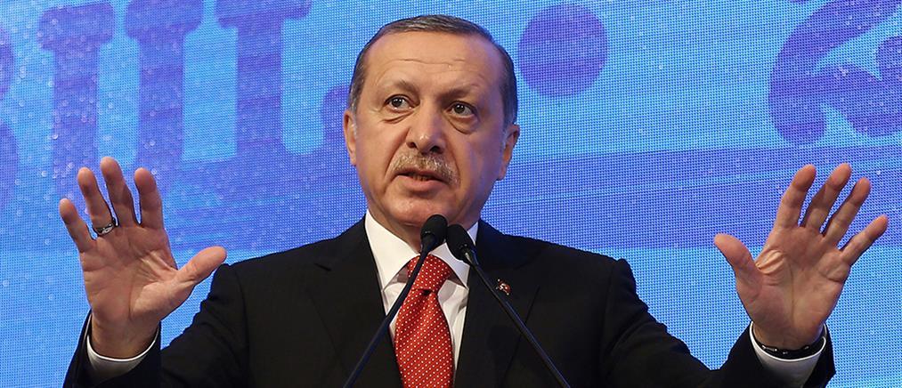Ερντογάν: υποχρέωση μας να βγάλουμε το μάτι όποιου θέλει να βλάψει την Τουρκία