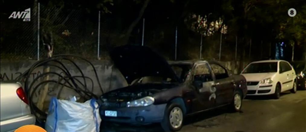 Κυψέλη: Φωτιά σε αυτοκίνητο