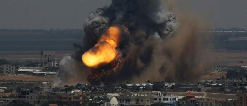 Βομβαρδίζουν την Γάζα οι Ισραηλινοί (βίντεο)