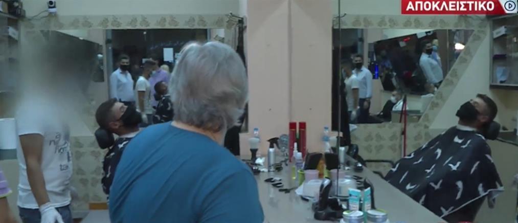 """Αποκλειστικά στον ΑΝΤ1 το """"σαφάρι ελέγχων"""" στην Αχαρνών (βίντεο)"""