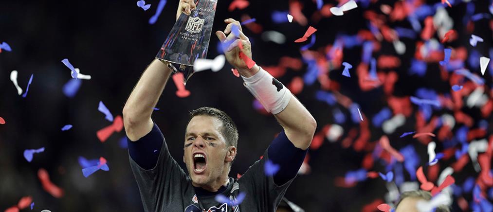 Οι Πάτριοτς με ιστορική ανατροπή κατέκτησαν το Super Bowl