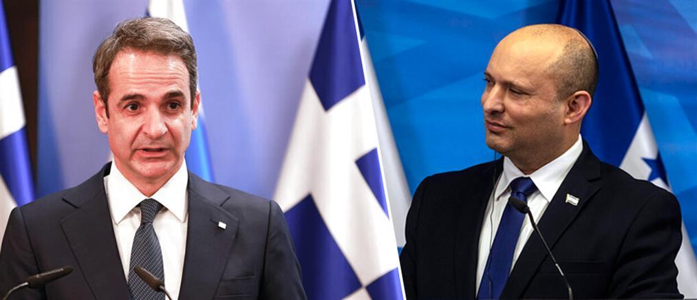 Μητσοτάκης - Μπένετ: Τι συζήτησαν οι δύο Πρωθυπουργοί