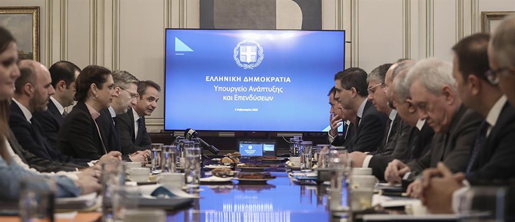 Μητσοτάκης: κομβική χρονιά το 2020 για ανάπτυξη και επενδύσεις