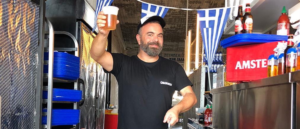 28η Οκτωβρίου στο Uberness του Βασίλη Καλλίδη με ελληνικό μενού!
