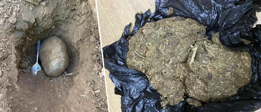 Ναρκωτικά θαμμένα στην αυλή και μαχαίρι σε κελί κρατούμενων για τρομοκρατία (εικόνες)