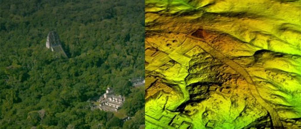 Ανακάλυψαν αρχαία πόλη των Μάγια κρυμμένη στη ζούγκλα της Γουατεμάλας (φωτο)